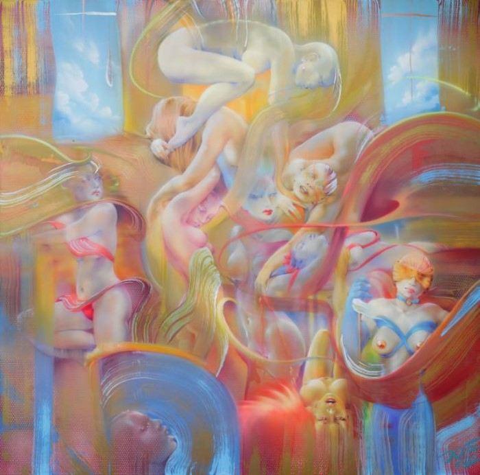 Немецкий художник. Joe Brockerhoff