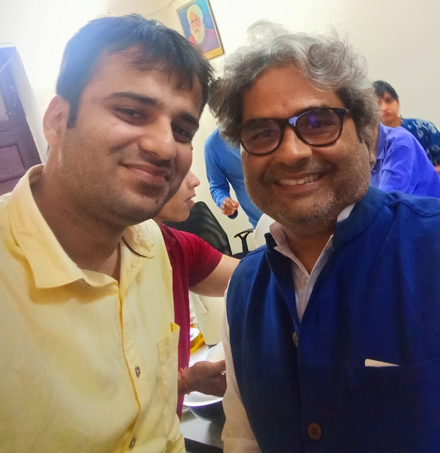 A rendezvous with noted Indian filmmaker Vishal Bhardwaj