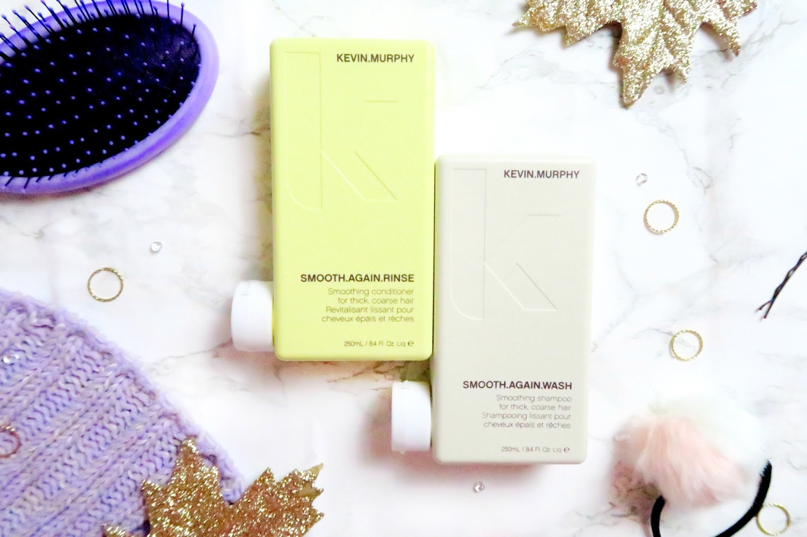 an image of KEVIN.MURPHY SMOOTH.AGAIN.WASH Smoothing Shampoo and SMOOTH.AGAIN.RINSE Smoothing Conditioner review