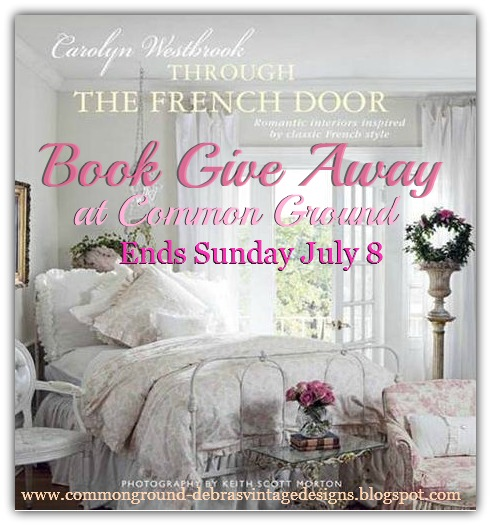 """common ground : """"Through the French Door"""" Book Give Away"""