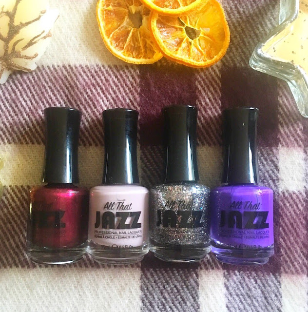 All that jazz - the designer collection, nail polishes lined up