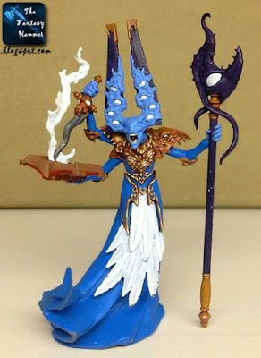 Gaunt Summoner of Tzeentch WiP 1