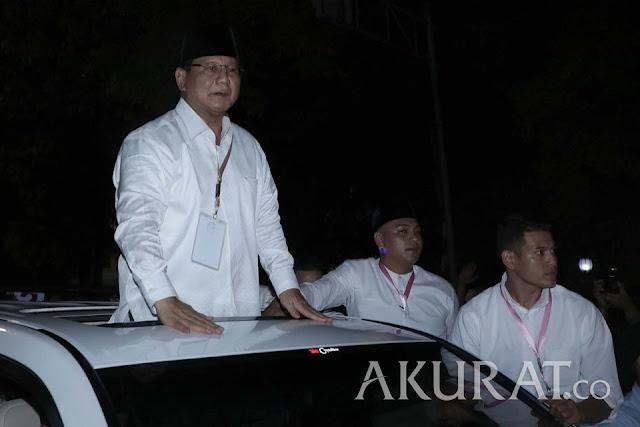 Prabowo Ucap Bela Sungkawa untuk Korban Tsunami