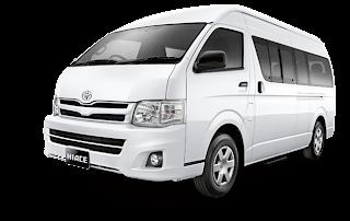Harga Sewa Toyota Hiace Commuter 15 Seats