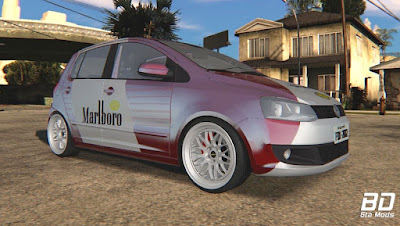 Download mod carro Fox Marlboro nas BBS para GTA San Andreas