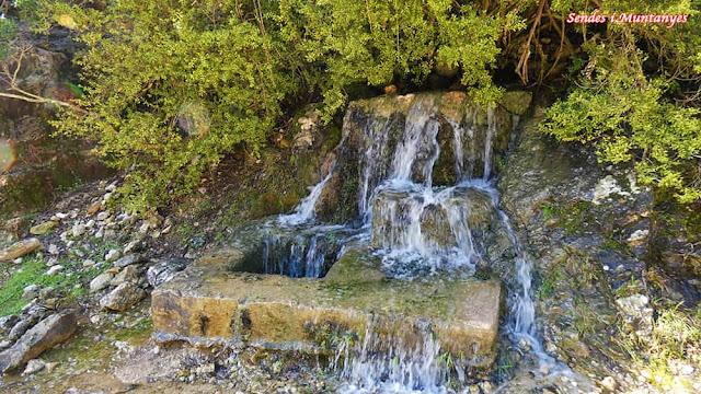 Fuente, Nacimiento río Borosa, Pontones, Sierra de Cazorla, Jaén, Andalucía