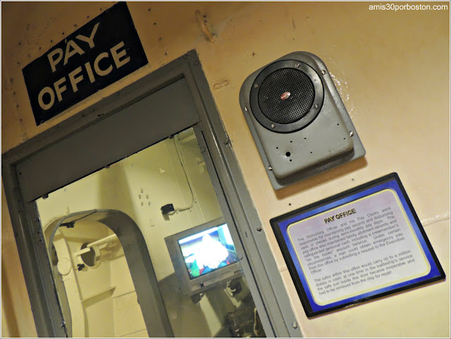Pay Office del USS Massachusetts