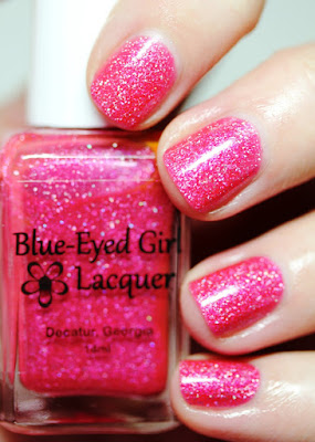 Blue-Eyed Girl Lacquer Clear My View