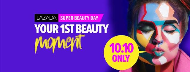 Lazada's Super Beauty Day, barangan kecantikan di lazada, diskaun barangan kecantikan, beli barangan kecantikan murah di lazada, jenama barangan kecantikan antarabangsa murah,