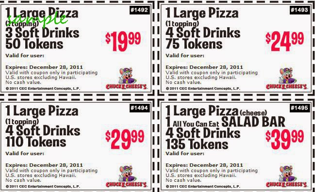 image about Chuck E Cheese Coupon Printable identified as Chuck e cheese coupon codes 100 tokens for $10 2018 / Discount coupons