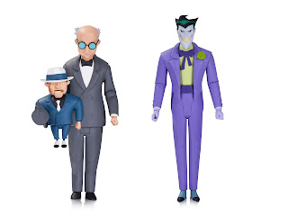 DC Collectibles Batman: The Animated Series Ventriloquist and Scarface Figure - The New Batman Adventures Joker Figure