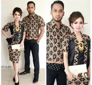 Koleksi baju batik couple untuk pria dan wanita