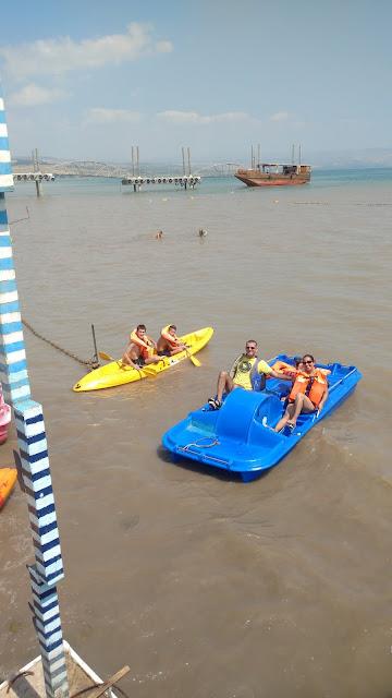 סירות בחוף גינוסר