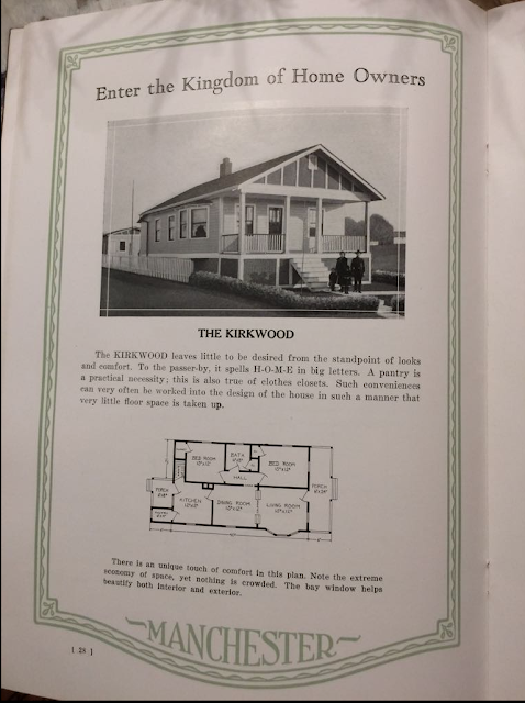 Manchester Manufacturing 1926 catalog: The Kirkwood model