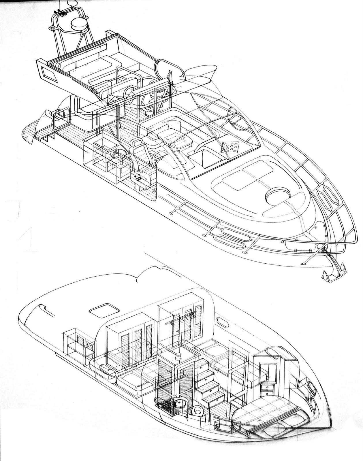 Desenhos Urbanos e Náuticos: Desenhos Revista Náutica BR II