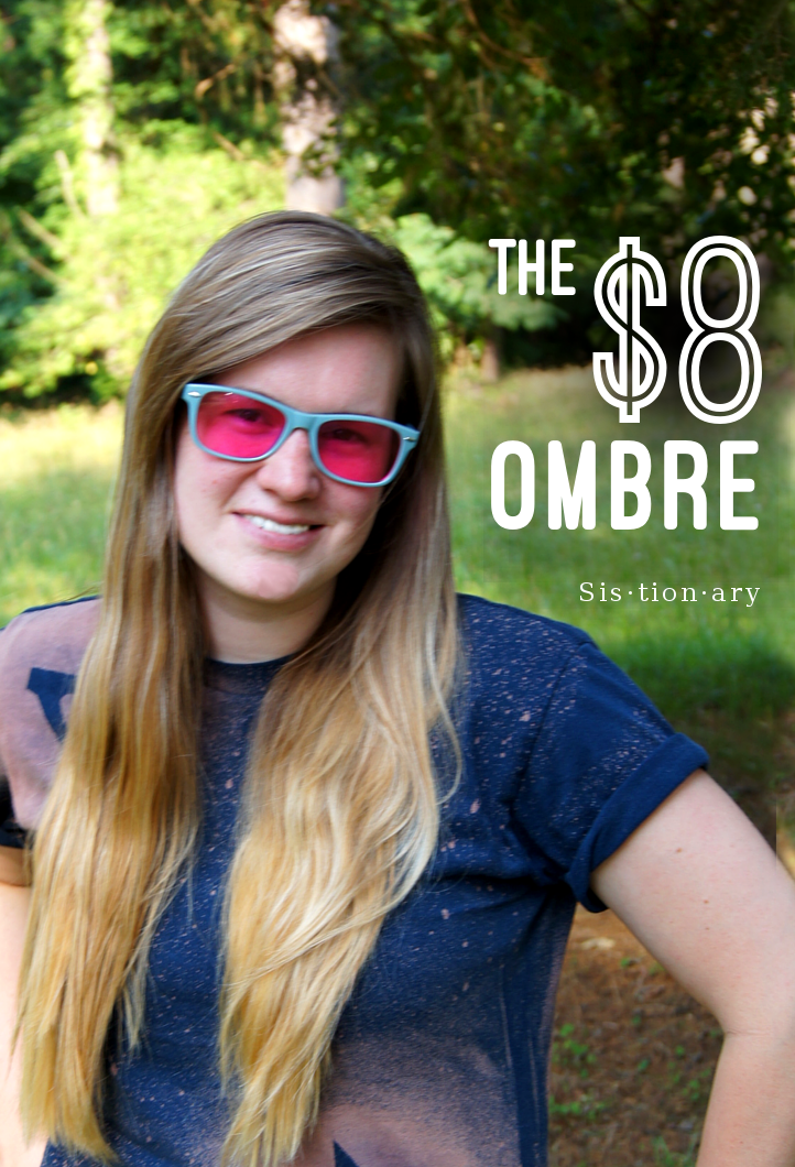 Sistionary: The $8 Ombre: DIY Summer Hair