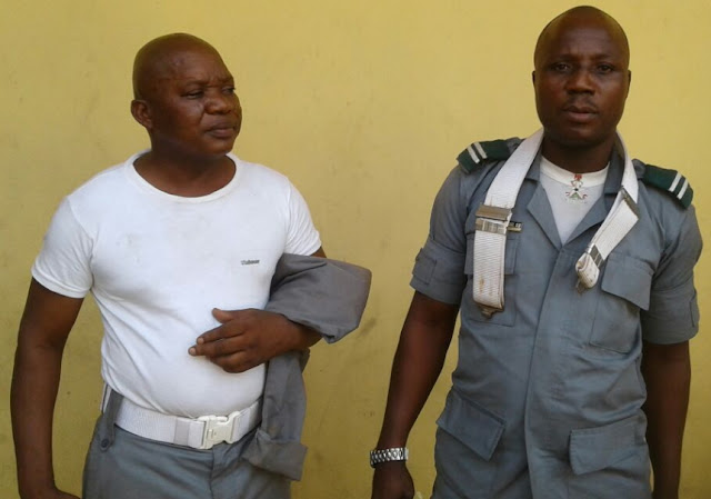 customs officer beat up police