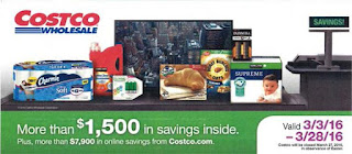 Current Costco Coupon March 2016
