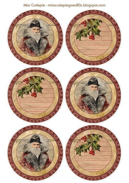10 Free Sets Of Christmas Gift Tag Printables Redo It