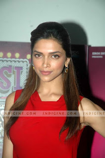 Deepika Padukone In Red Top