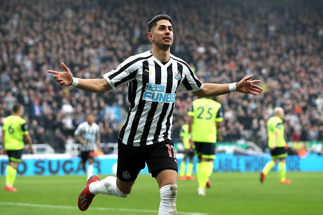 Newcastle United Ayoze Perez