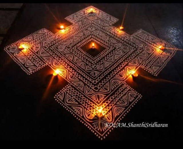 Happy Diwali Rangoli Designs 2016