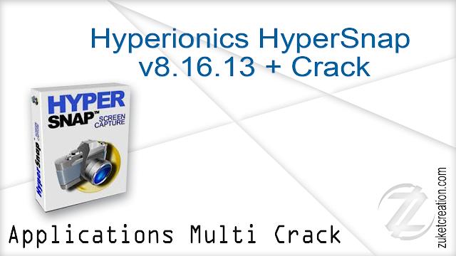 Hyperionics HyperSnap v8.16.13 + Crack   |   24.8 MB