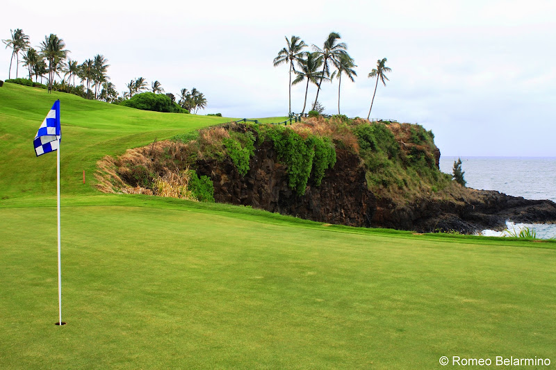 Kiele Moana Hole 7 Kauai Lagoons Golf Club Hawaii