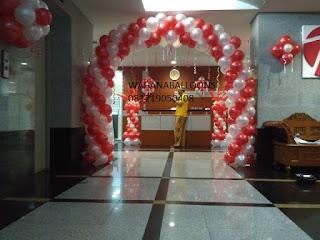 dekorasi balon untuk acara 17 agustus di kemendikbud