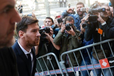 """""""I didn't know or read anything, all I know about is playing football""""- Lionel Messi defends himself at court trial"""