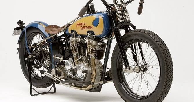GeekBobber: 1928 Harley-Davidson JDH Cut Down