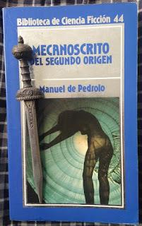 Portada del libro Mecanoscrito del segundo origen, de Manuel de Pedrolo