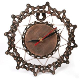 Reloj cadenas de bici