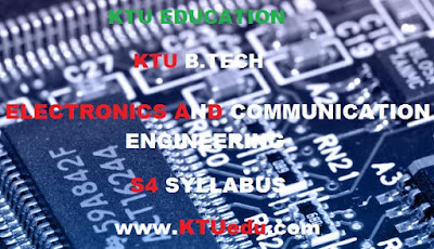 ELECTRONICS AND COMMUNICATION ENGINEERING KTU B-TECH MODIFIED S4 SYLLABUS 2017, SIGNALS & SYSTEMS, ANALOG COMMUNICATION, COMPUTER ORGANISATION
