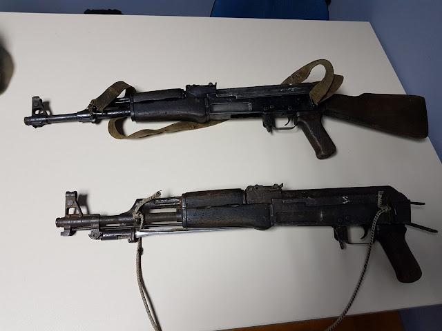 Ένας έμπορος ναρκωτικών νεκρός - Κατασχέθηκαν 2 kalashnikov και 166 κιλά κάνναβης (+ΦΩΤΟ)