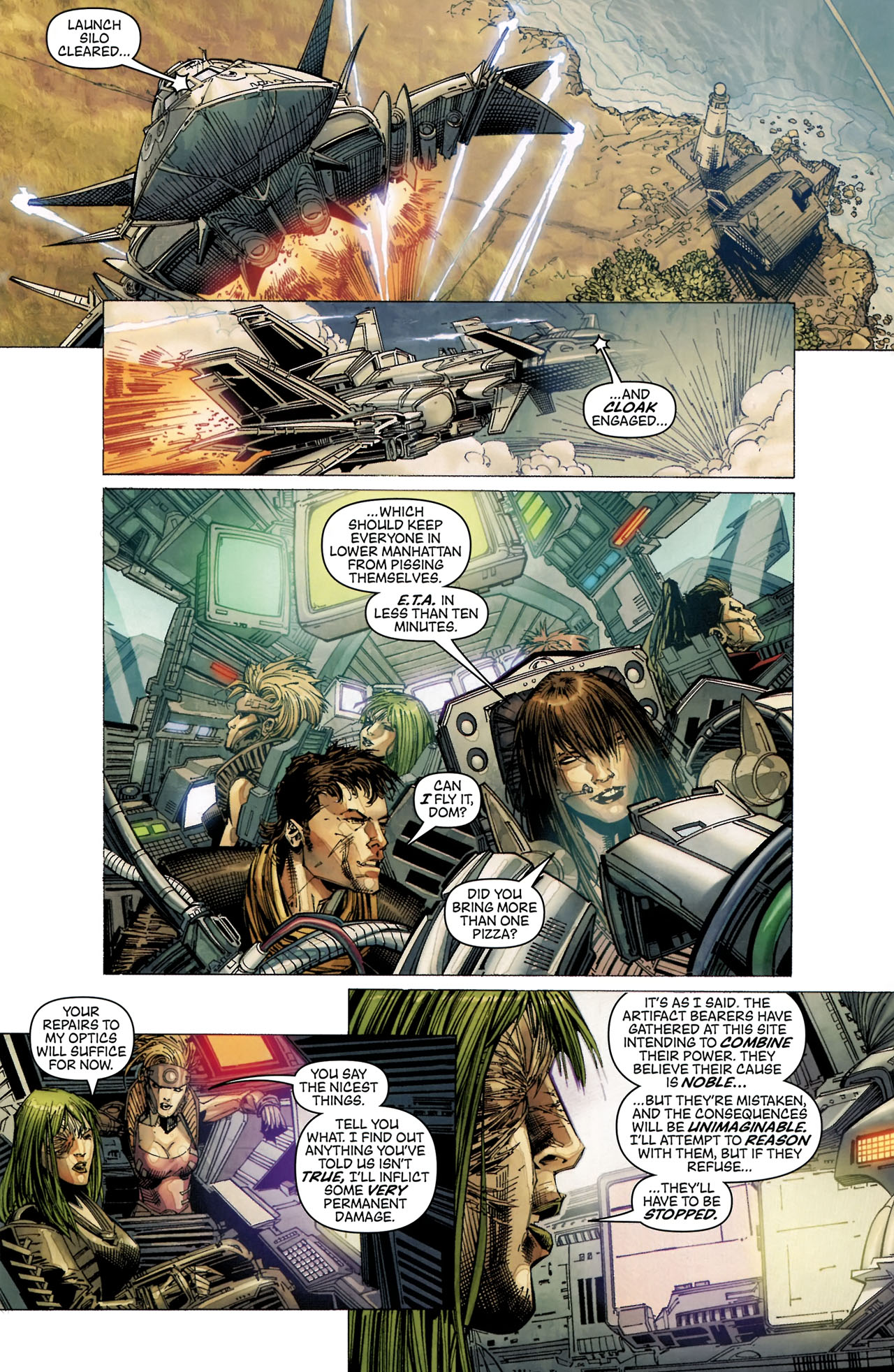 Read online Artifacts comic -  Issue #5 - 19