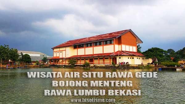 Gedung Kesenian dan Wisata Air Situ Rawa Gede Kota Bekasi