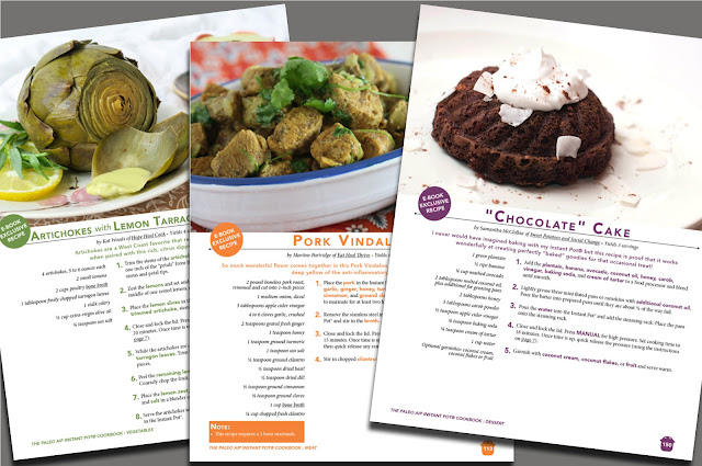 The Paleo AIP Instant Pot® Cookbook preview pages