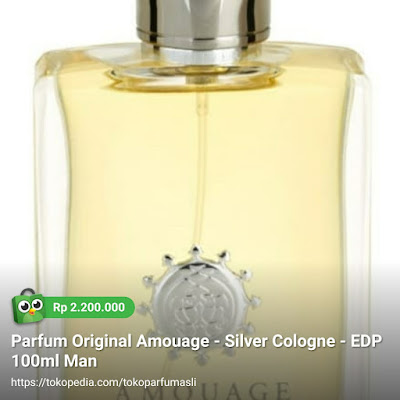 amouage silver cologne edp 100ml man