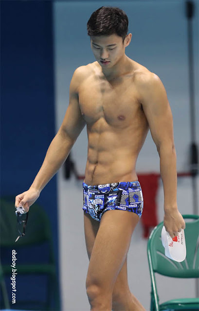 olympic rio 2016 ning zetao shirtless photo