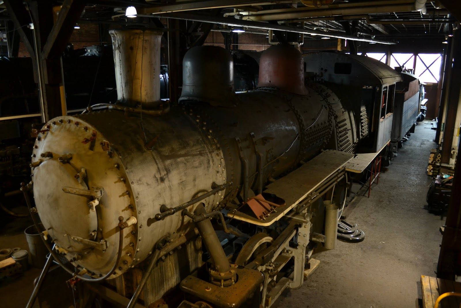 Стимтаун - музей паровозов, Скрэнтон, Пенсильвания(Steamtown National Historic Site, Scranton, PA)