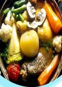 Foto de ingredientes que lleva el sancochado
