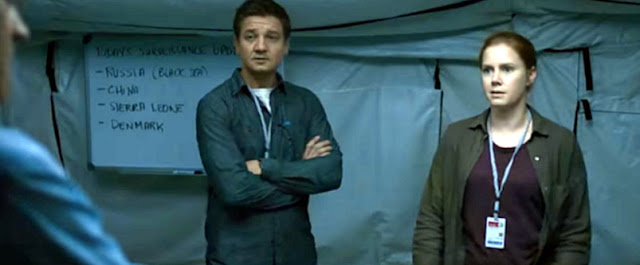 Arrival (2016) Movie Sinopsis - Amy Adams, Jeremy Renner