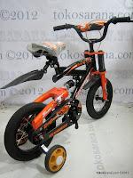 4 Sepeda Anak Everbest 12-5528 East Coast Suspensi 12 Inci