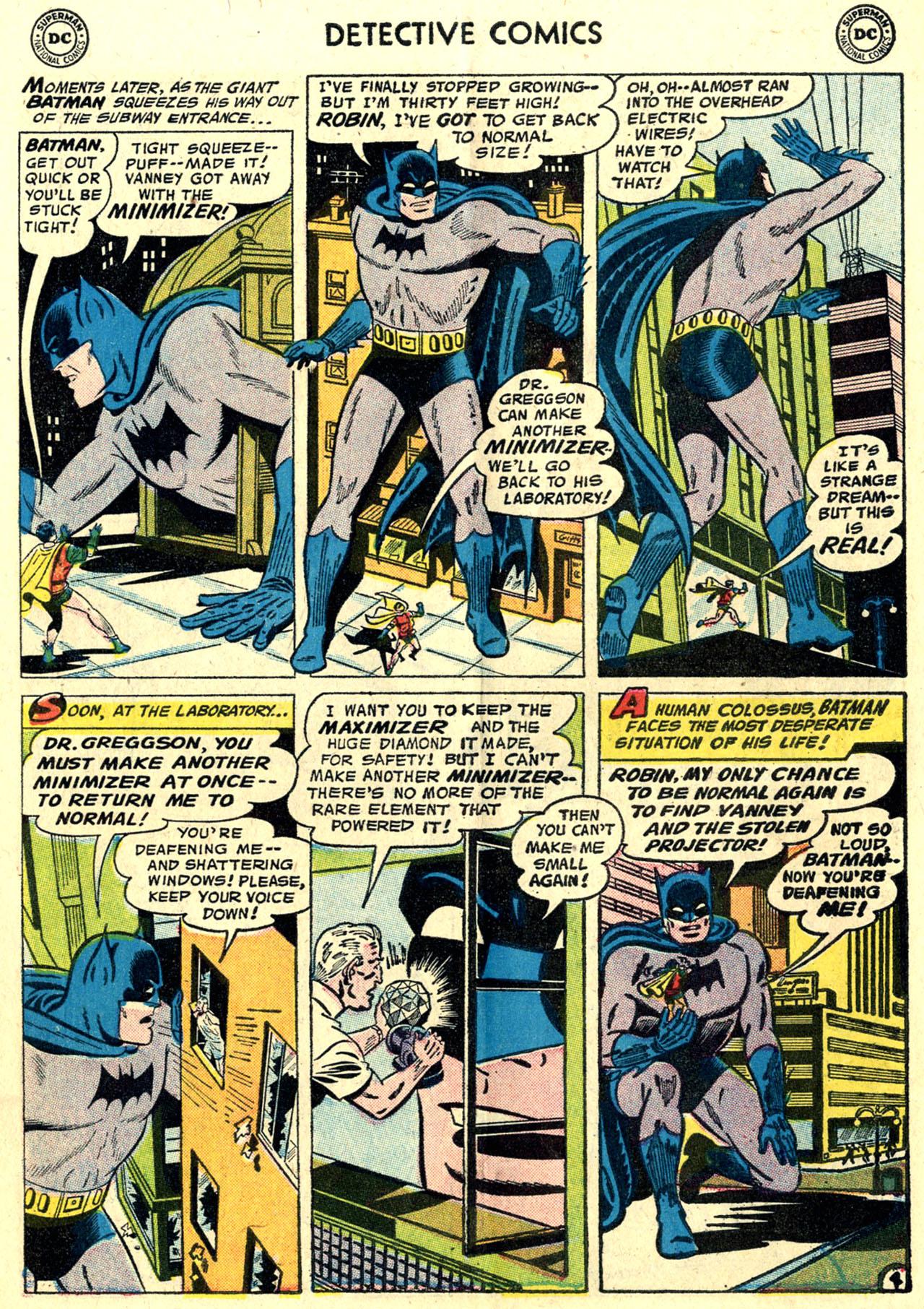 Read online Detective Comics (1937) comic -  Issue #243 - 6