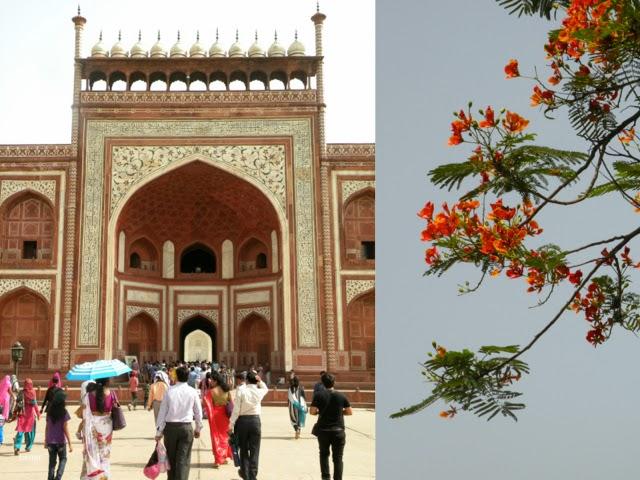 the Great Gate to Taj Mahal by betitu