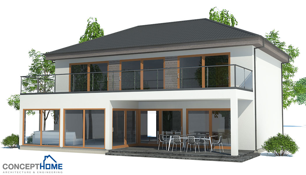 affordable home plans economical house plan ch172. Black Bedroom Furniture Sets. Home Design Ideas