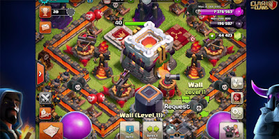 Mod Coc Update Terbaru TH 11 Unlimited Gems, Elixir and Gold