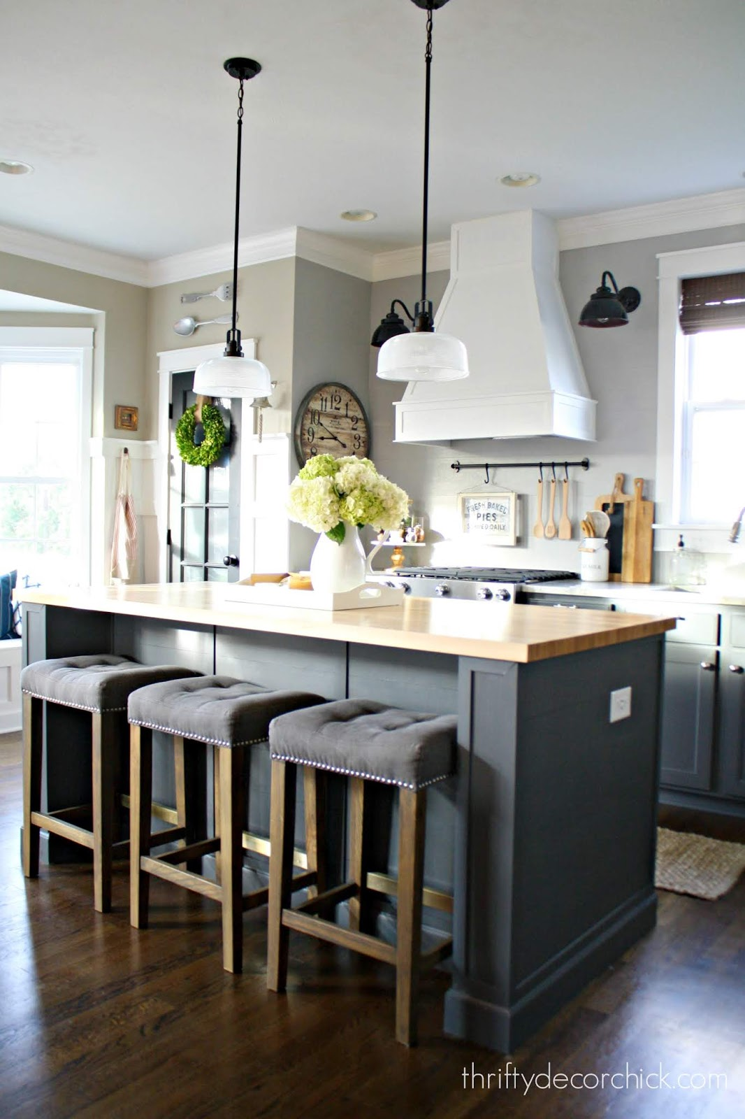 How to extend an existing kitchen island
