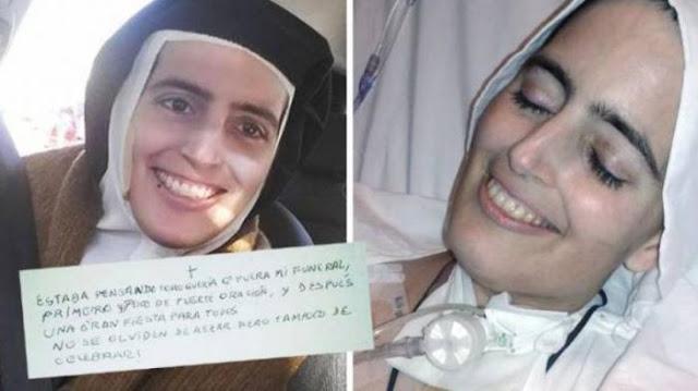 Jadi Viral, Biarawati Ini Meninggal Dunia Sambil Tersenyum Lebar